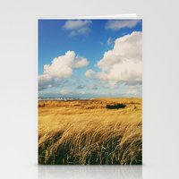 Clouds Over Windy Field (Taken with iPhone) Stationery Cards