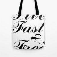 live fast & free Tote Bag