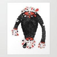 SALVAJEANIMAL Headless I… Art Print