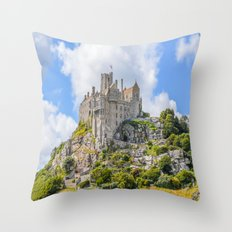 St Michael's Mount (6) Throw Pillow