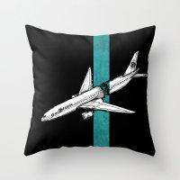 Flight 815 Throw Pillow