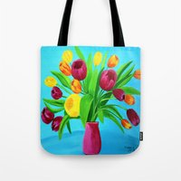 Tulips for Easter Tote Bag