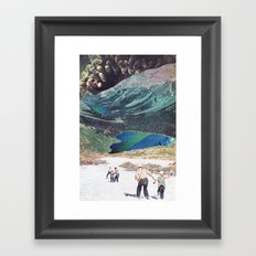 In Empty Spaces Framed Art Print