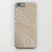 Paisley Platinum iPhone 6 Slim Case