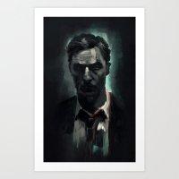 Rust Cohle Art Print