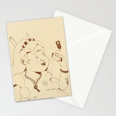 Alice stuck in the wonderland ! Stationery Cards