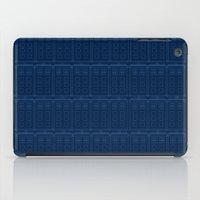 TARDIS Blueprint Pattern… iPad Case