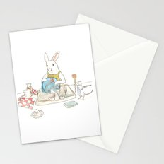 Doing the Dishes Stationery Cards