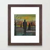 Track 2: The Path Of The… Framed Art Print
