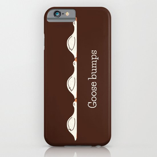 Goose Bumps iPhone & iPod Case