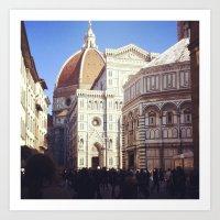 Firenze è dove sta! Art Print