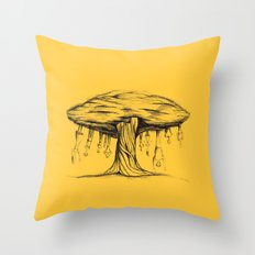 The tree of Immaturity Throw Pillow