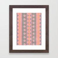Montana Weave Framed Art Print