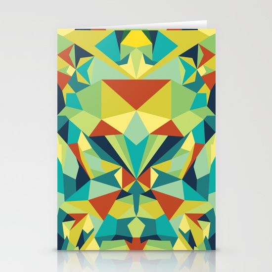 Colorful All Stationery Card