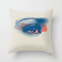 Heaven Is In Your Eyes Throw Pillow