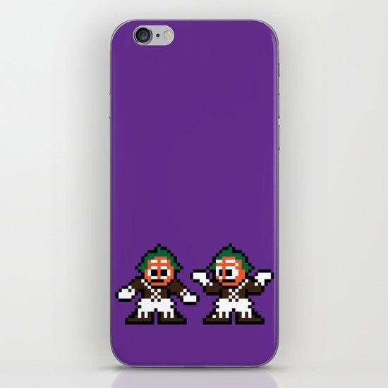 Pixelly Wonka iPhone & iPod Skin