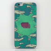 Away From Everything iPhone & iPod Skin