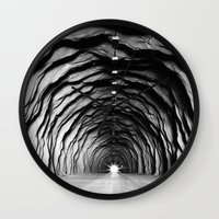 End Of The Tunnel Wall Clock
