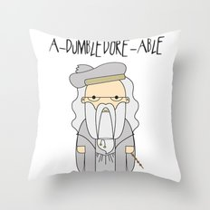 A-DUMBLEDORE-ABLE.  Throw Pillow