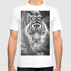 Tiger Tiger Mens Fitted Tee SMALL White