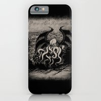 iPhone & iPod Case featuring The Rise of Great Cthulhu by pigboom el crapo