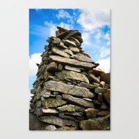 Lake District Rocks.  Canvas Print
