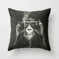 Throw Pillow featuring Smoke 'Em If You Got 'Em by Dr. Lukas Brezak
