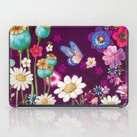 Purple Meadow iPad Case