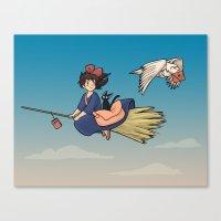 Magical Deliveries Canvas Print