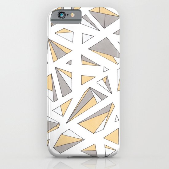 Refracted Diamond - Yellow iPhone & iPod Case