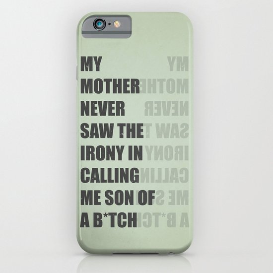 Son of a B*TCH iPhone & iPod Case