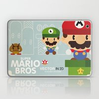 Mario Bros 2 Fan Art Laptop & iPad Skin