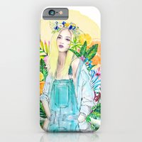 iPhone & iPod Case featuring  Anna Selezneva by Sara Eshak
