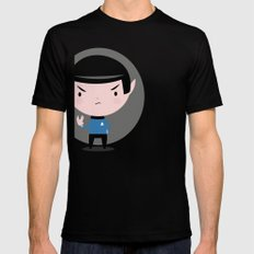 LLAP Mens Fitted Tee Black SMALL