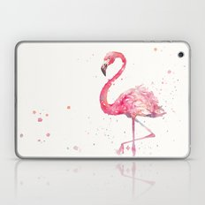 A Flamingos Fancy Laptop & iPad Skin