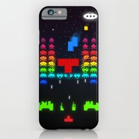 iPhone Cases featuring INVATRIS : The reinforcements arrived! by Diego Tirigall