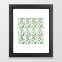 Jamaican Botanicals - Gr… Framed Art Print