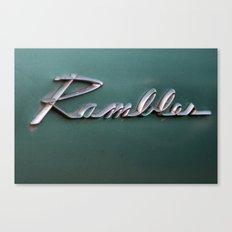 Rambler Canvas Print