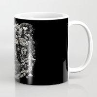 Spark-Eyed Oblivion Cascade Blues Mug