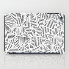 Abstraction Linear Inverted iPad Case