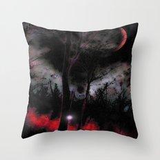 Elfenfeuer Throw Pillow