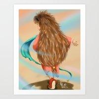 Little Hedgehog Art Print