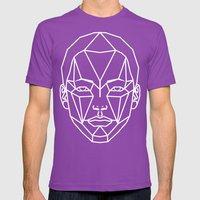 SMBG81 Mens Fitted Tee Ultraviolet SMALL