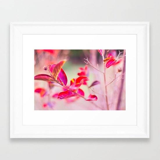 Princess Leaves Framed Art Print