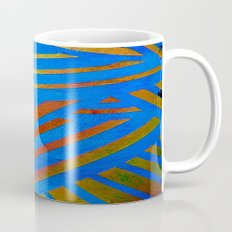 Geometric Blue Mug