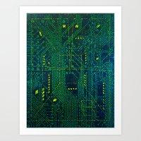 Tao Hacker Art Print