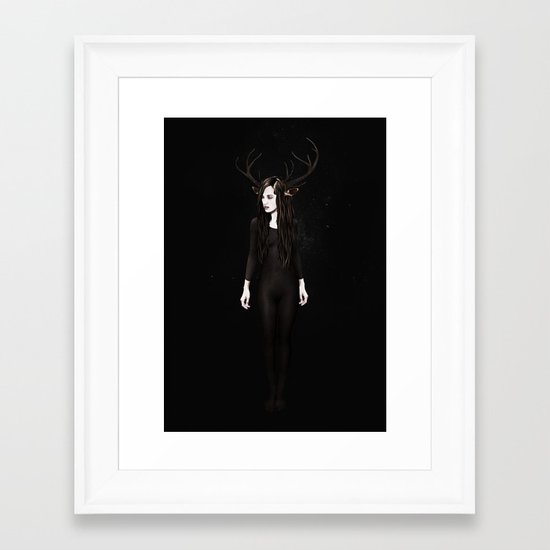 Abigail Night Framed Art Print