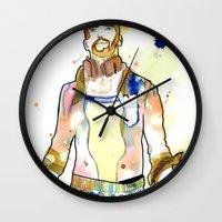Portraits, Mario Wall Clock