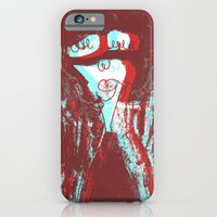 iPhone & iPod Case featuring ppoorrttrraaiitt by ana javier