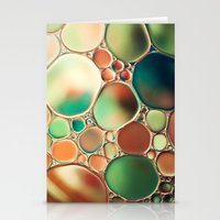 Pastel Abstraction Stationery Cards